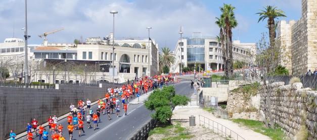 Maraton w Jerozolimie (2016) cz. 3 – start
