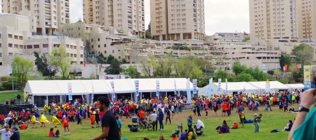 Maraton w Jerozolimie (2016) cz. 2 – przed startem